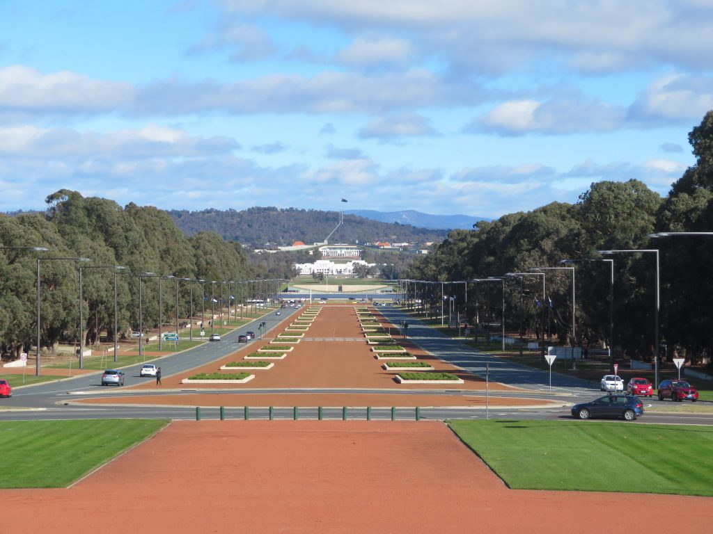 anzac avenue Canberra detailed itinerary things to see and do in one day winter june