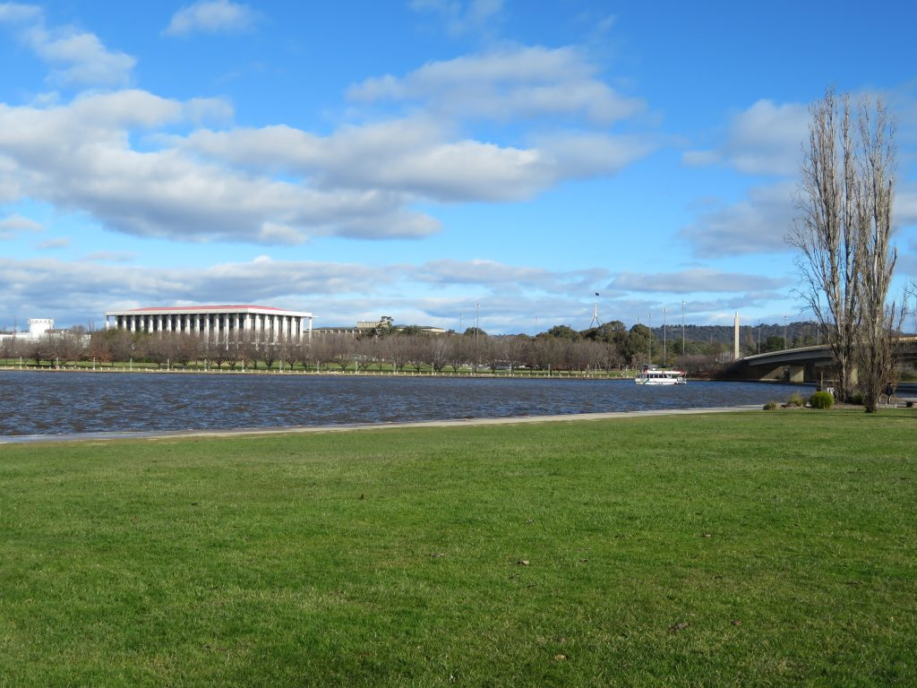 lake burley griffin canberra walking itinerary best of canberra in one day