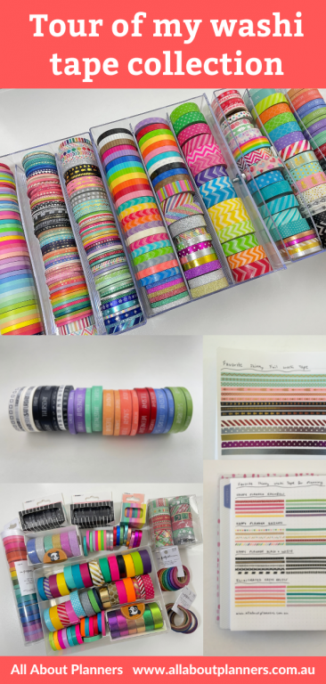 washi tape collection haul all about planners video rainbow skinny 15mm functional sunshine sticker ink by jeng carefully crafted recollections how to store washi tape