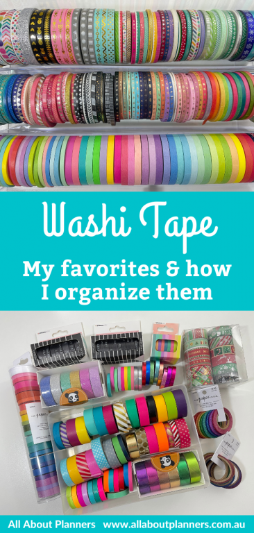 washi tape collection how to organize acrylic clear drawers michaels rainbow skinny 3mm 5mm pattern ink by jeng sunshine sticker co reviews