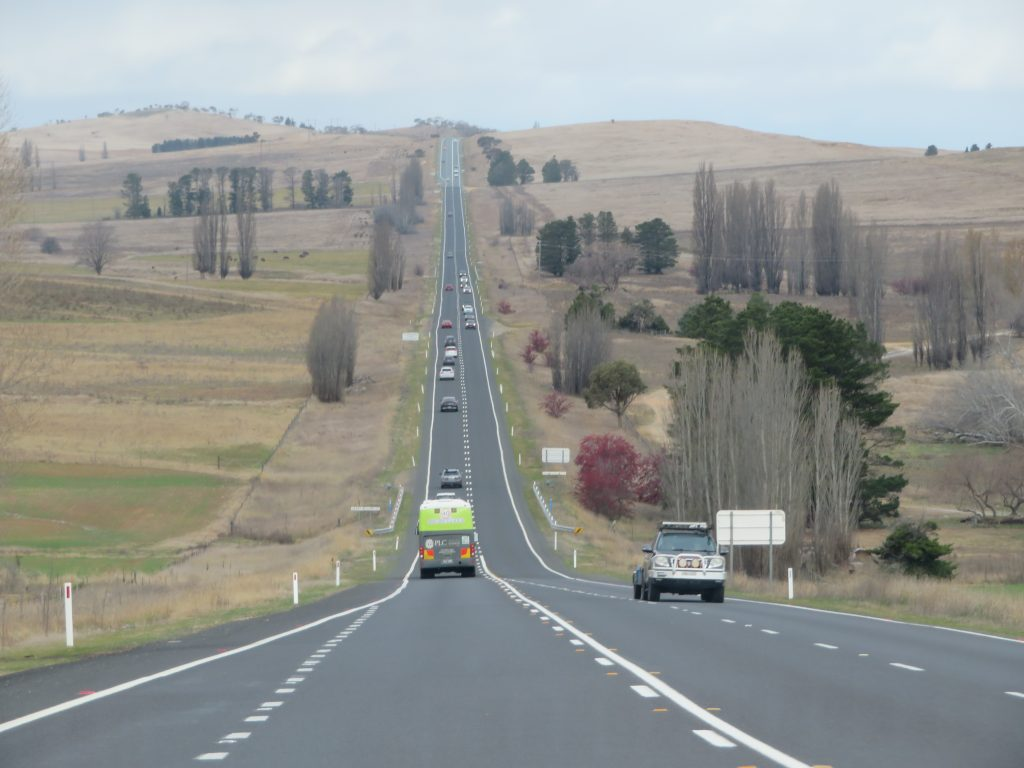 NSW country heading to cooma jindabyne road trip from canberra to thredbo skiing long weekend itinerary
