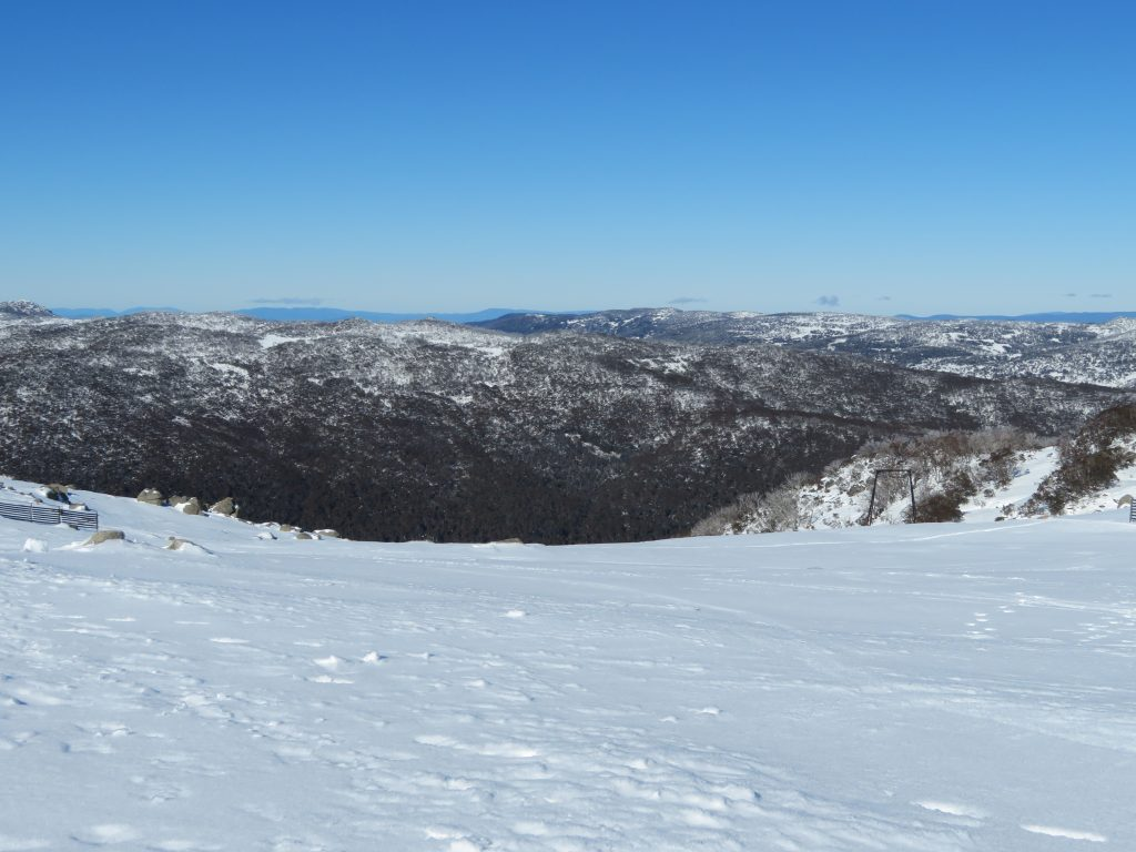 thredbo village snowshoeing Mount Kosciusko australia winter holiday day trip from canberra things to see and do review