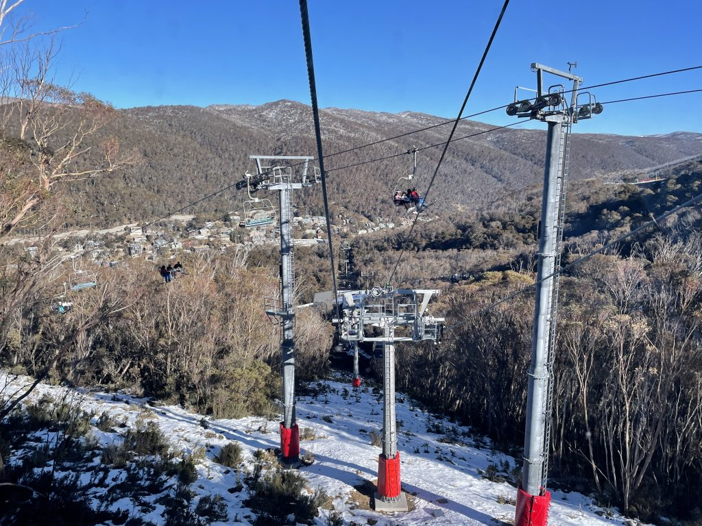 Merritts Gondola view things to see and do in thredbo australia skiing snowshoeing