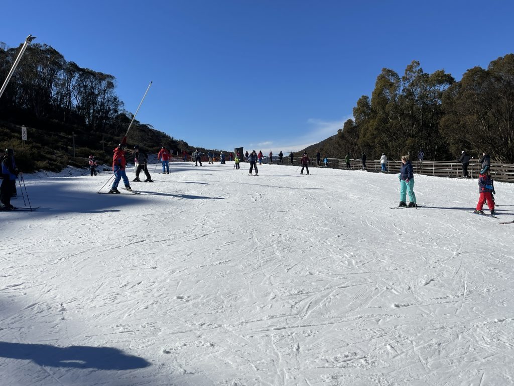 friday flat beginner slope at thredbo things to see and do beginner ski lessons