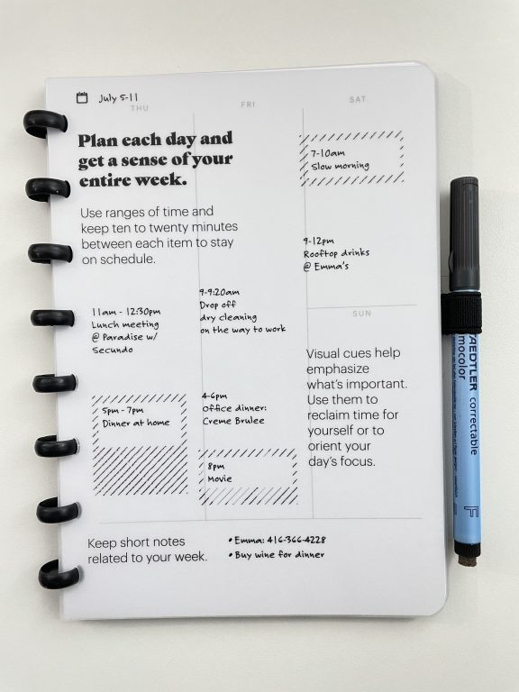 SORA planner review discbound whiteboard pages reusable pros and cons video flipthrough all about planners
