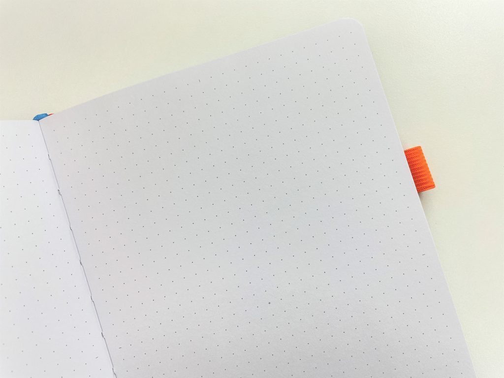 scribbles that matter pro notebook page marker guides dot grid bright white pages 160 gsm thick paper