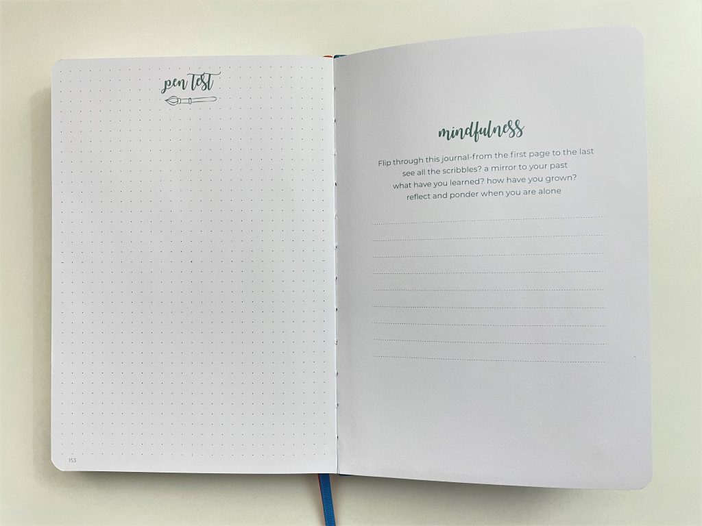 scribbles that matter pro version dot grid notebook bright white paper index contents best notebooks for bullet journaling review page numbers