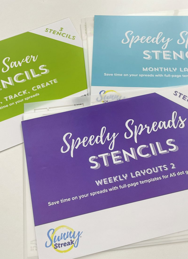 speedy stencils review time saver stencils weekly monthly layouts minimalist quick simple easy best bujo tools useful