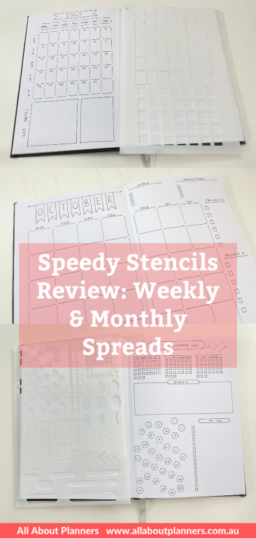 sunny streak bullet journal stencils monthly weekly time saver best planner supplies for bujo tips quick easy simple calendar boxes