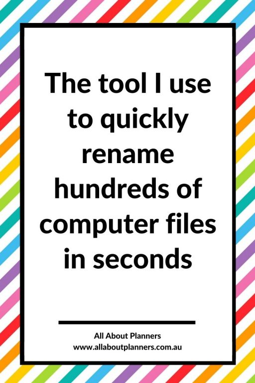 the tool i use to quickly rename hundreds of computer files in seconds adobe bridge tutorial how to rename photos save time digital declutter and organization