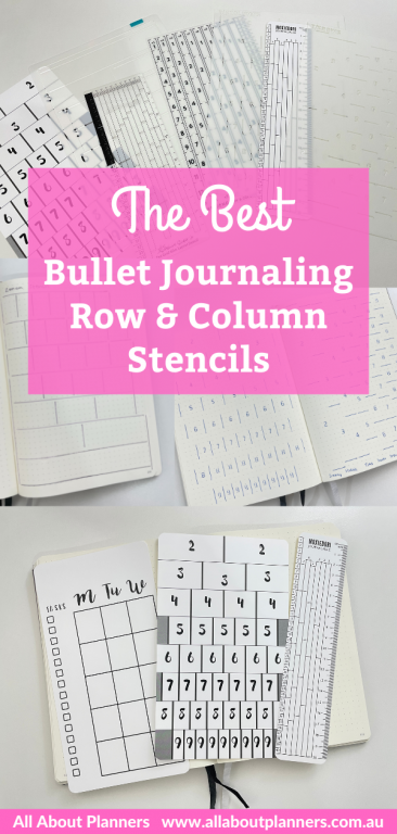 bullet journal stencil review recommendations dot grid spacing counter fast efficient simple moxie dorie ink by jeng sunshine sticker co speedy stencils zonon