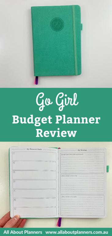 go girl budget planner review pros and cons video flipthrough spending savings debt financial goals christmas budget booklet sv digital alternative to clever fox