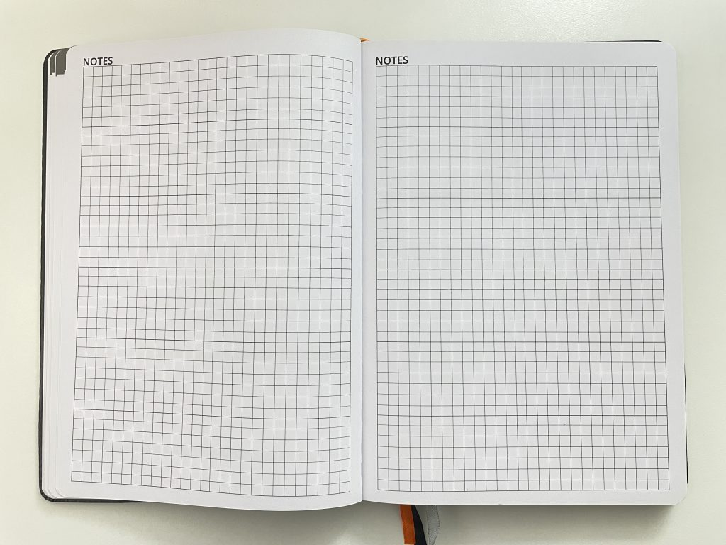 ignited life planner review graph paper lined weekly spread tasks appointments undated 2 page monthly calendar balance goals work health finances