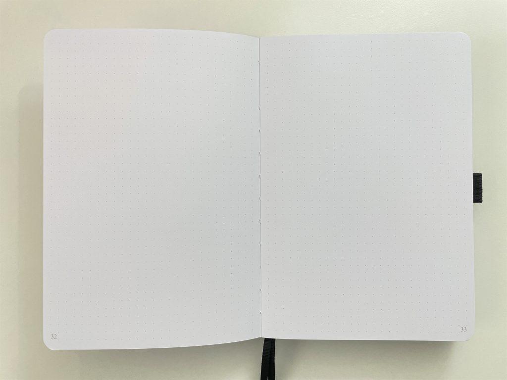 slow journal australian dot grid notebook archer and olive dupe cheaper alternative 160 gsm dot grid paper-min