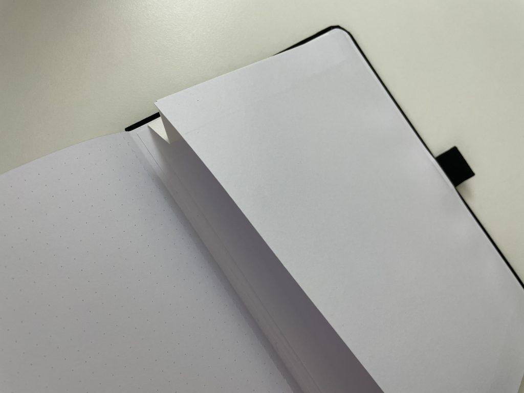 slow journal dot grid notebook review australian brand 160 gsm pocket folder-min