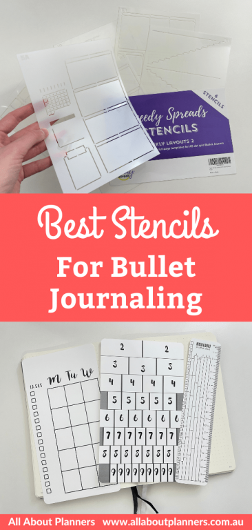 the best stencils for bullet journaling bujo supplies for newbies amazon recommendations all about planners tips tools-min